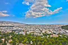 Ciudad de Atenas, Grecia fotografía de archivo