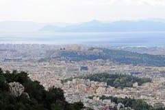 Ciudad de Atenas, Grecia Imagen de archivo