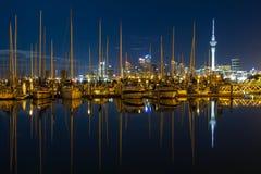 Ciudad de Auckland, Nueva Zelandia Foto de archivo libre de regalías