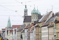Ciudad de Augsburg Imágenes de archivo libres de regalías