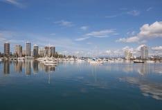 Ciudad de Australia Gold Coast Foto de archivo libre de regalías