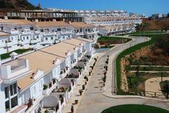 Ciudad de Ayamonte en España meridional Fotos de archivo libres de regalías