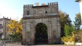 Ciudad de Bérgamo Imagen de archivo libre de regalías