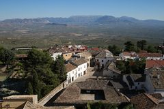 Ciudad de Baeza en Jaén Andalucía imágenes de archivo libres de regalías