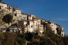 Ciudad de Bairols, Francia Imagenes de archivo