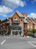 Ciudad de Banff Foto de archivo