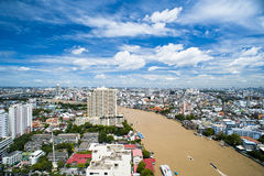 Ciudad de Bangkok Fotos de archivo libres de regalías