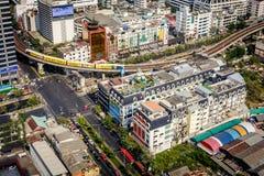 Ciudad de Bangkok Imágenes de archivo libres de regalías