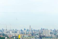 Ciudad de Bangkok de la visión superior Fotos de archivo libres de regalías