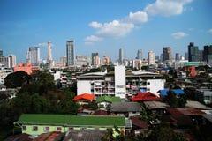Ciudad de Bangkok de Tailandia Imágenes de archivo libres de regalías