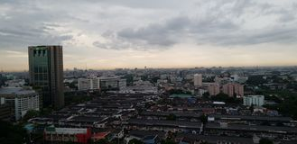 Ciudad de Bankkok Imágenes de archivo libres de regalías