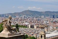 Ciudad de Barcelona Imagen de archivo