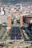 Ciudad de Barcelona Fotografía de archivo libre de regalías