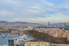 Ciudad de Barcelona - España - Europa fotografía de archivo