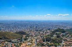 Ciudad de Belo Horizonte Foto de archivo libre de regalías