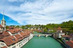 Ciudad de Berna Fotos de archivo libres de regalías