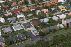 Ciudad de Boca Raton Foto de archivo libre de regalías