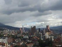 Ciudad de Bogotá Imagenes de archivo