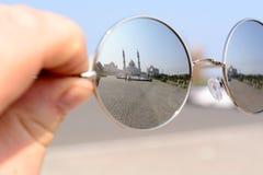 Ciudad de Bolgar, Tartaristán, Rusia - 26 de julio de 2016: Mezquita blanca Imagen de archivo libre de regalías