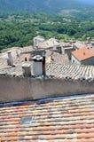 Ciudad de Bonnieux Foto de archivo libre de regalías