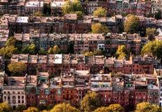 Ciudad de Boston imagen de archivo libre de regalías