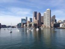 Ciudad de Boston Foto de archivo libre de regalías