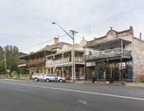 Ciudad de Braidwood, NSW, Australia Imagen de archivo