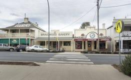 Ciudad de Braidwood, NSW, Australia Imagenes de archivo