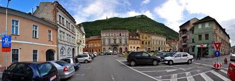 Ciudad de Brasov, Transilvania, Rumania Imagen de archivo