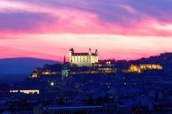Ciudad de Bratislava en Eslovaquia Imagen de archivo
