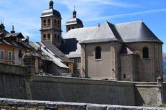 Ciudad de Briancon medieval fotos de archivo libres de regalías