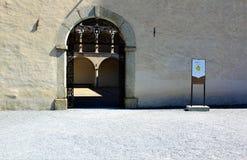 Ciudad de Briga en Suiza Fotos de archivo