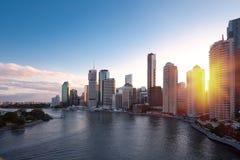 Ciudad de Brisbane Fotografía de archivo
