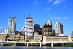 Ciudad de Brisbane Imagen de archivo