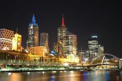 Ciudad de Brisbane Foto de archivo libre de regalías