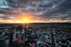 Ciudad de Brisbane Imágenes de archivo libres de regalías