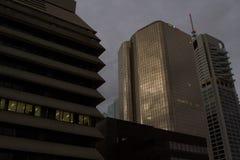 Ciudad de Brisbane de los rascacielos Fotografía de archivo libre de regalías