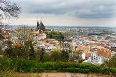 Ciudad de Brno Imagenes de archivo