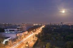 Ciudad de Bucarest Fotografía de archivo libre de regalías