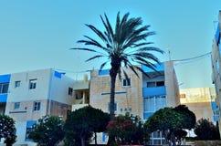 Ciudad de Bugibba en Malta imagen de archivo libre de regalías