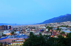 Ciudad de Bursa Fotos de archivo
