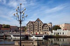 Ciudad de Bydgoszcz en Polonia Imágenes de archivo libres de regalías