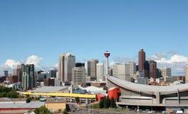 Ciudad de Calgary Foto de archivo libre de regalías