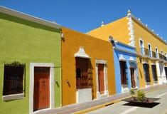 Ciudad de Campeche en México Fotografía de archivo libre de regalías