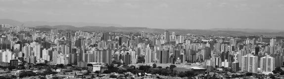 Ciudad de Campinas Foto de archivo libre de regalías