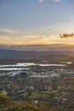 Ciudad de Canberra Fotografía de archivo