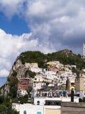 Ciudad de Capri en la isla de Capri fotos de archivo