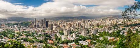 Ciudad de Caracas, Venezuela Fotografía de archivo libre de regalías