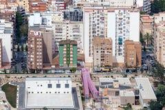 Ciudad de Cartagena, España Imagen de archivo libre de regalías