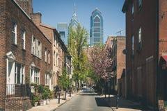 Ciudad de centro Philadelphia Fotografía de archivo libre de regalías